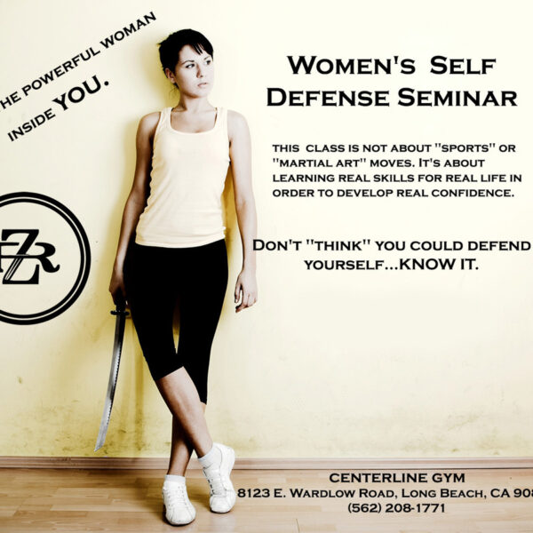 Women's Self Defense Seminar - Red Zone Threat Management